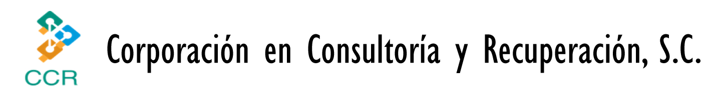 Corporación en Consultoría y Recuperación S. C.